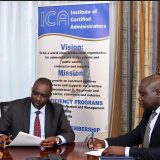 Chairman KPNA and Chairman ICA sign MOU for a caps it building partnership.