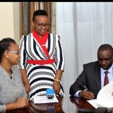 KPNA National Secretary, ICA CEO and Chairman at the MOU signing