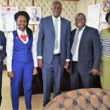 KPNA Executive office pay a courtesy  call to the acting Director General- Health Dr. Patrick Amoth at Afya House.